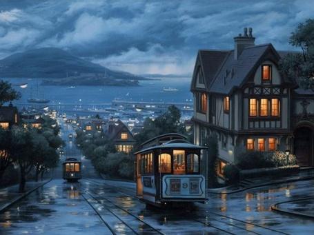 Фото Трамваи в Сан-Франциско / San-Francisco (© Кофе мой друг), добавлено: 28.03.2012 12:29