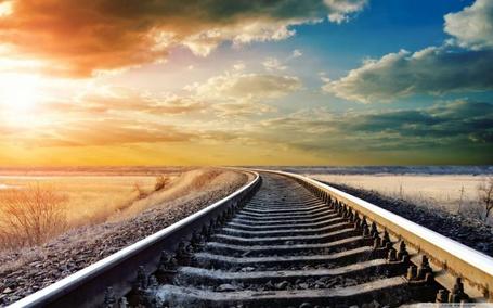 Фото Железная дорога зимой (© Anatol), добавлено: 29.03.2012 15:54