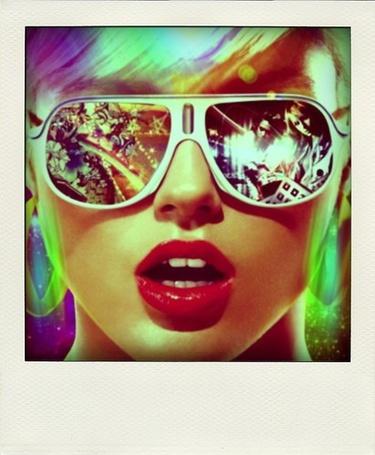 Фото Лицо девушка в очках (© Antuannet), добавлено: 30.03.2012 06:53