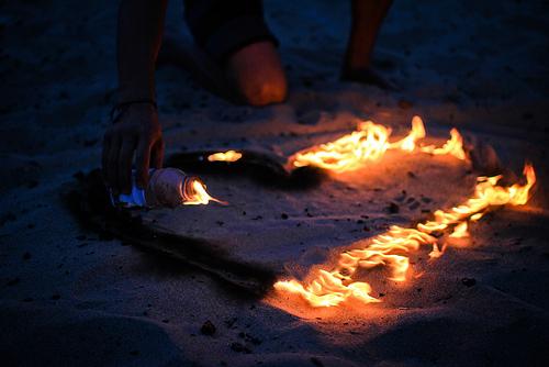 Огненные сердца своими руками