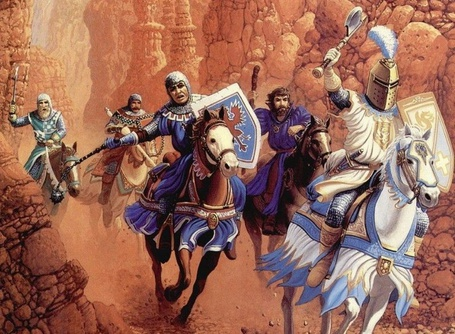 Фото Грохот битвы - рыцари нападают на сарацинов (© Anatol), добавлено: 01.04.2012 16:24