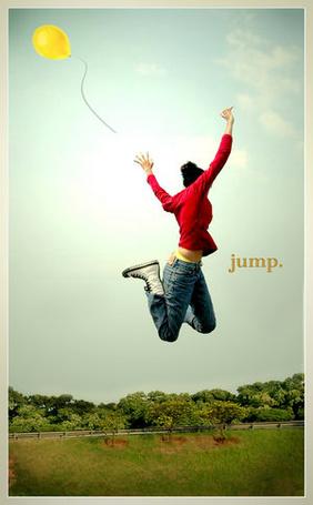 Фото Девушка в прыжке( JUMP) (© ВалерияВалердинова), добавлено: 05.04.2012 11:57