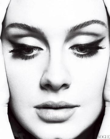 Фото Певица Адель / Adele (Vogue)