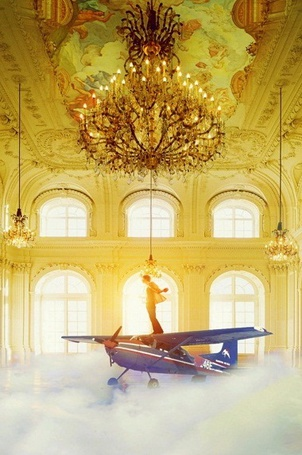 Фото Винтокрылый самолёт в зале дворца готов к взлёту (© Anatol), добавлено: 11.04.2012 00:43
