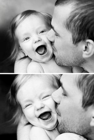Фото Мужчина с ребёнком