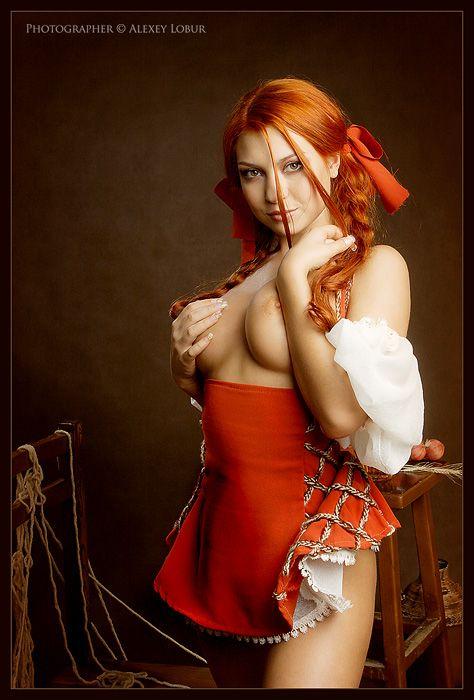фото рыжих девушек порно