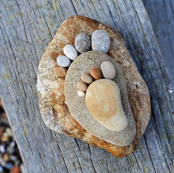 Поделка из камней своими руками фото