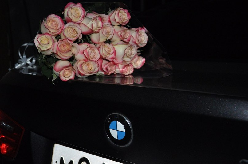 Фото цветы в бмв х5