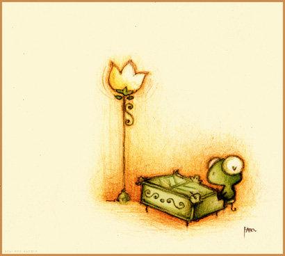 Фото лягушонок и игрушечное пианино