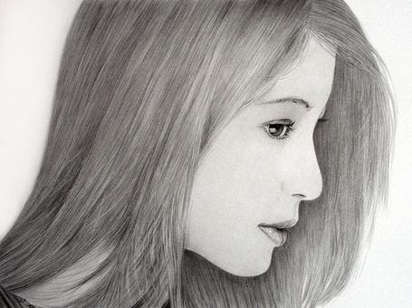 Фото Светловолосая азиатка, карандашный портрет, художник Klsadako (© Radieschen), добавлено: 05.05.2012 17:50
