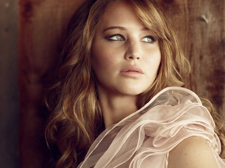 Фото Актриса Дженнифер Лоуренс / Jennifer Lawrence, фотограф Simon Emmett