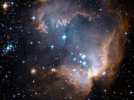 Фото Новорожденные звезды в участке N90, Малое Магелланово облако (© Past is Past), добавлено: 14.05.2012 16:29