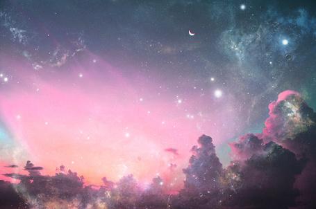 Фото Ночное небо (© Феминистка), добавлено: 14.05.2012 21:41