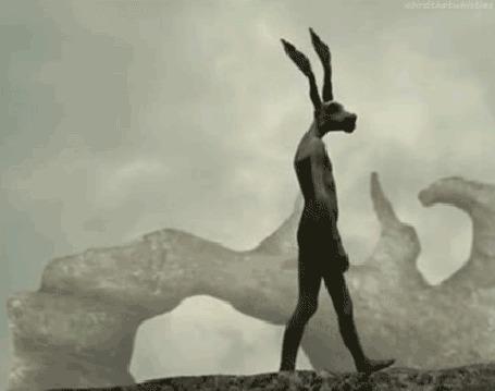 Фото Странный получеловек-полуживотное