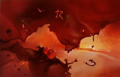 Фото Шоколадно-вишневый конец света', картины маслом Романа Величко (© Radieschen), добавлено: 31.05.2012 13:00