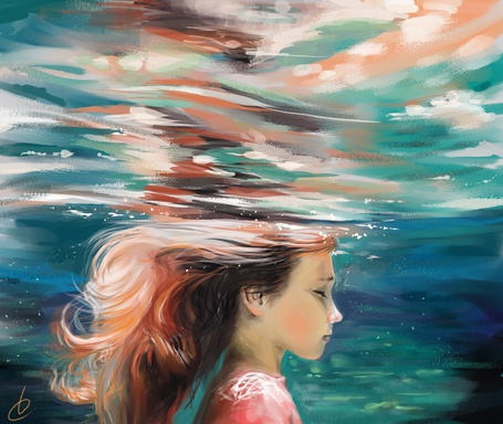 Фото Девочка под водой (© D.Phantom), добавлено: 02.06.2012 11:42