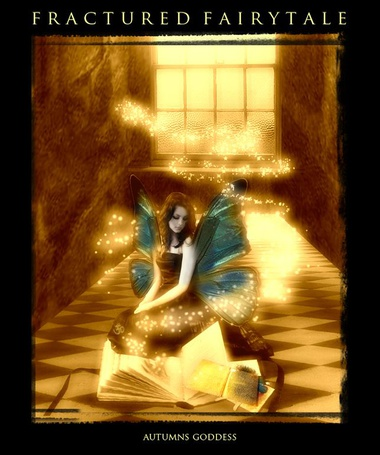 Фото Фея перед книгами - FRACTURED FAIRYTALE Autumns Goddess