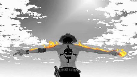 Фото Пылающий Портгас Д. Эйс / Portgas D. Ace из аниме One Piece (© Krista Zarubin), добавлено: 14.06.2012 14:05