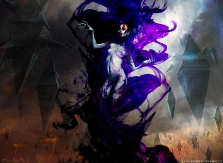 Фото Обнаженная девушка в фиолетовой пелене среди ромбовидных парящих строений, художник Igor Kieryluk / Игорь Киерлюк (© Radieschen), добавлено: 17.06.2012 15:54