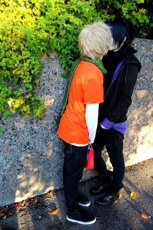���� ������� ��� �� ����� ������ / Naruto. ��������� ����� � ������ / Naruto and Sasuke