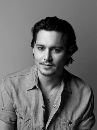 Фото Американский актер, режиссер Джонни Депп / Johnny Depp, фотограф Brigitte Lacombe