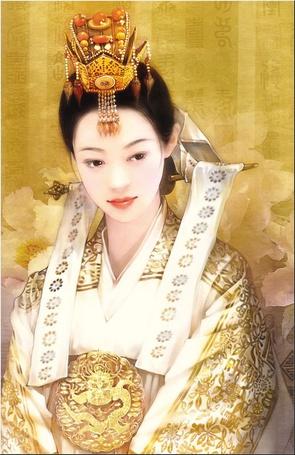 Фото Милая китайская барышня