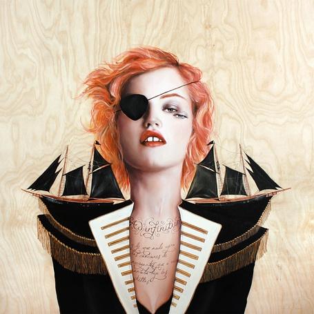 Фото Рыжая девушка-пиратка (© Antidote), добавлено: 26.06.2012 19:01