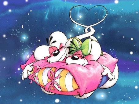 Фото Любовь двух мышек