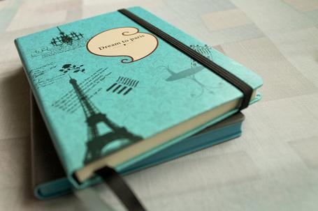 Фото Ежедневник с нарисованной Эйфелевой башней (Dreams to Paris / Мечтами в Париже) (© Кофе мой друг), добавлено: 27.07.2012 17:51