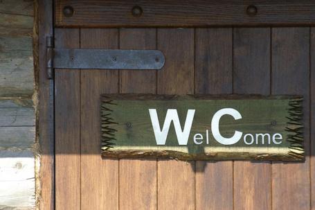 Фото Страсти вокруг сортира! - надпись на туалете (Wel Come) (© Anatol), добавлено: 29.07.2012 00:09