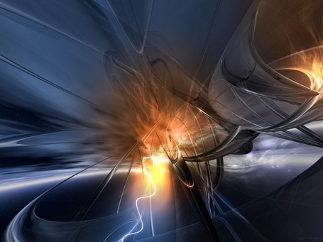 Фото Объёмная абстракция (© Anatol), добавлено: 31.07.2012 17:53