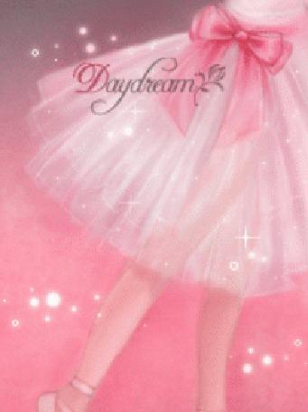 Фото Девочка в розовом пышном платье с бантиком (daydream)