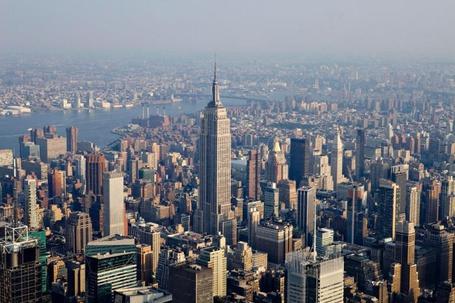 Фото Нью-Йорк  / New York, вид сверху