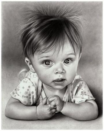 Фото Малыш смотрит на мир восторженными глазами (IMAGINE E art)