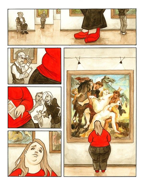 Комиксы толстые женщины