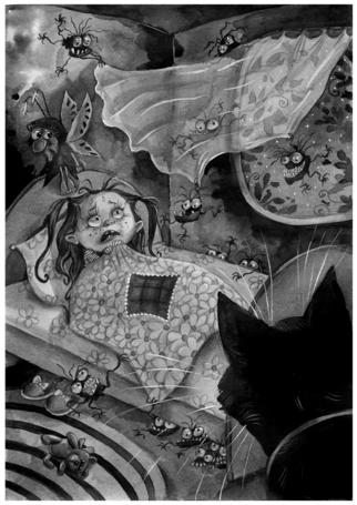 Фото Ночные страхи маленькой девочки