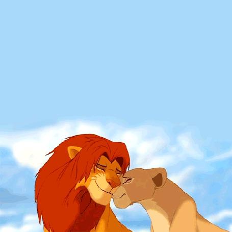 Фото Нала и Симба, мультфтльм 'The Lion King / Король лев'