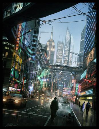 Фото Дождливый Нью-Йорк / New York