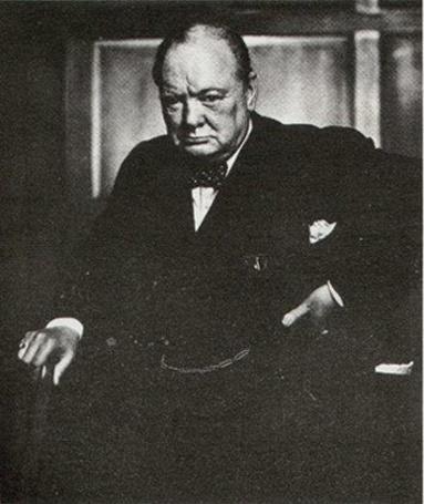 Фото Британский государственный и политический деятель, премьер-министр Великобритании Сэр Уинстон Леонард Спенсер-Черчилль / Sir Winston Leonard Spencer-Churchill (© Morena), добавлено: 13.10.2012 10:28