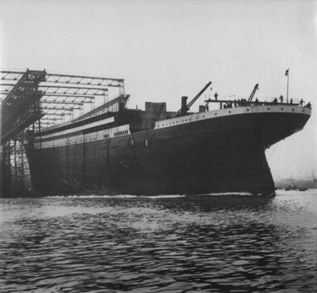 Фото Строительство Титаника
