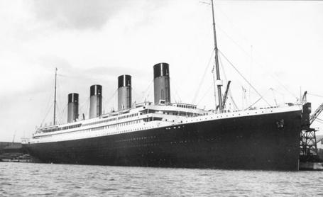 Фото Знаменитый  британский пароход Титаник / Titanicк компании White Star Line / Уайт Стар Лайн
