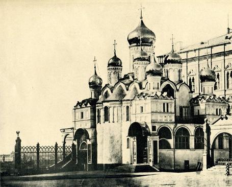 Фото Москва, Благовещенский собор, 1896 год