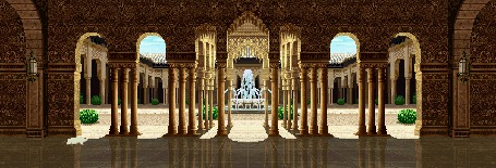 Фото Фонтан в дворце