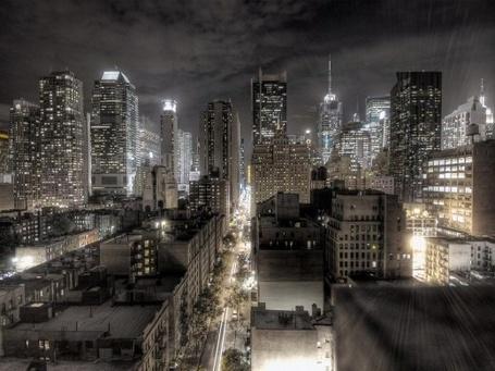 Фото Вечерний Нью-Йорк (© ), добавлено: 29.10.2012 10:26