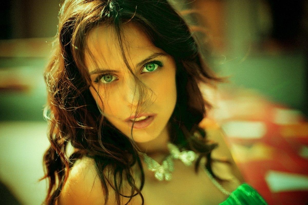Фото зеленоглазые шалуньи