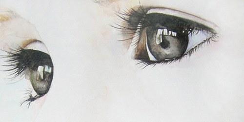 Фото красивые нарисованные глаза