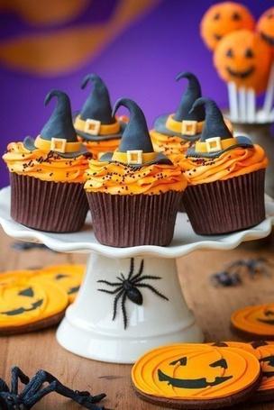 Фото Пирожные к Хеллоуину / Halloween (© ), добавлено: 01.11.2012 11:41