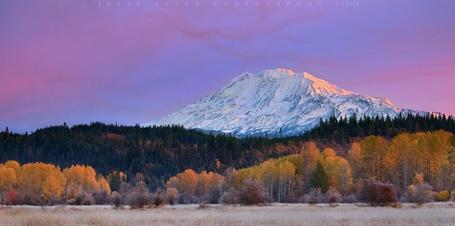 Фото Гора Адамс / mountain Adams, Вашингтон /  Washington, фотограф Джесси Эстес /   Jesse Estes, 2009 год