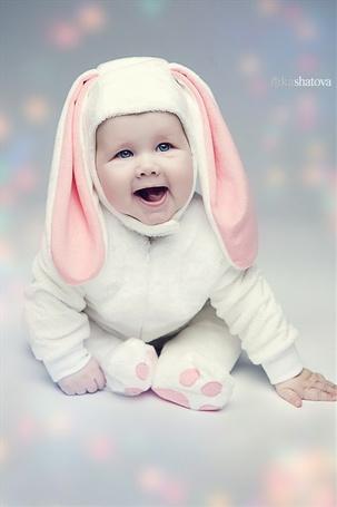 Фото Ребёнок в костюме кролика, фотограф Ника Шатова / Nicka Shatova