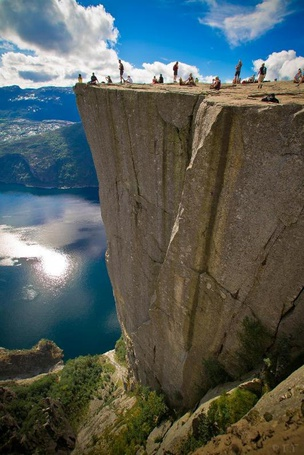 ���� ���� ����������, �������� / Perestulen cliff, Norway (� ), ���������: 09.11.2012 09:49